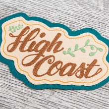 "Miriam Parkman x Indigofera Chain Stitch Embroidered Patch ""High Coast"""
