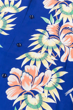 Sun Surf Rayon Hawaiian Flower Show Shirt