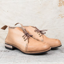 Tender Sidings Chukka Boots Wattle Tanned Natural Leather