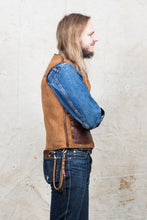 ELMC Biker Flight Vest Havana Brown