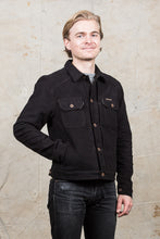 Indigofera Parsons Lodge Jacket Heavy Moleskin Black