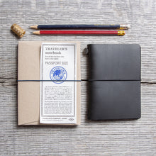 Traveler's Company Notebook Passport Size Black