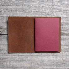 Traveler's Company Notebook Passport Size Brown