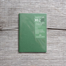 Traveler's Company #002 Passport Size Notebook Refill Grid Paper