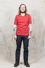 Merz b. Schwanen 207 1/4 Sleeve Organic Cotton Red