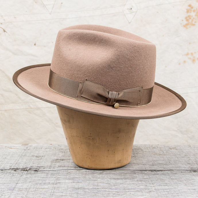 H. W. Dog & Co. Point-H Beige Wool Hat