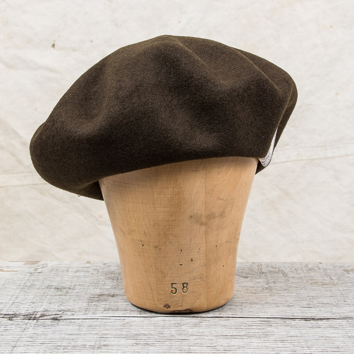 H. W. Dog & Co. Wool Baret Brown