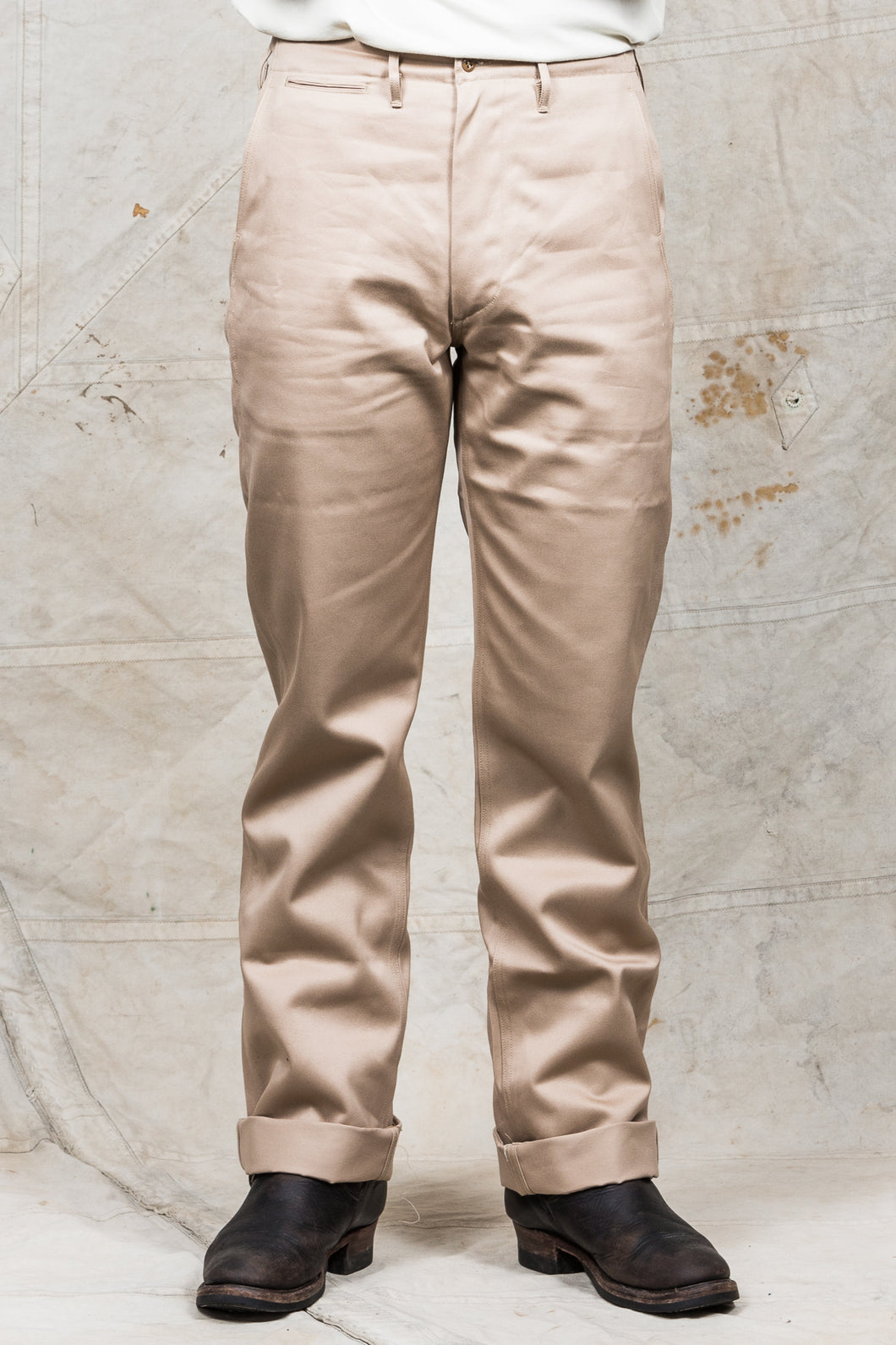 Buzz Rickson's Original Spec Chinos Beige