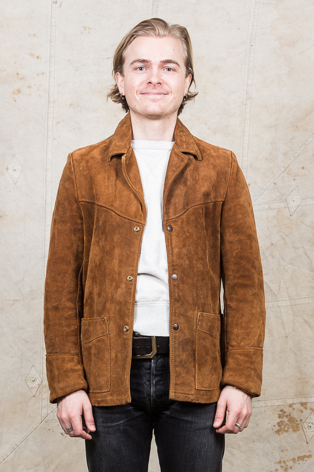 Second Hand Schott Western Suede Jacket