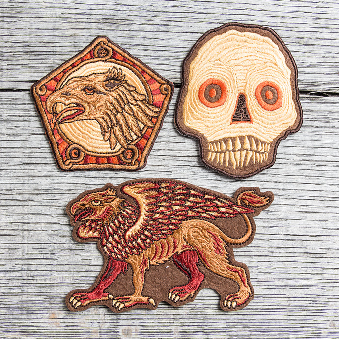 Indigofera x Atldax Patches Set of 3