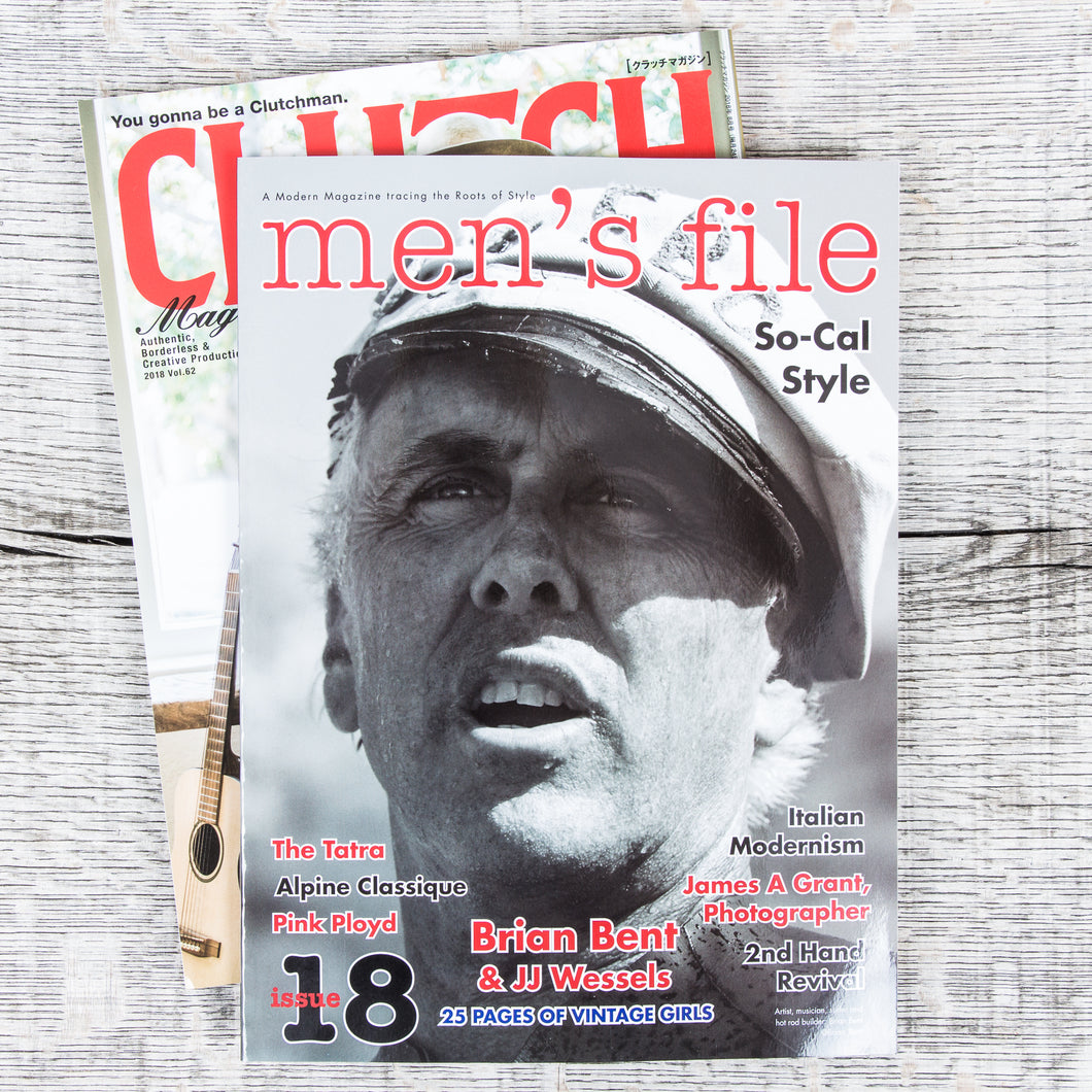 Men's File Issue 18 (+ Clutch Magazine)