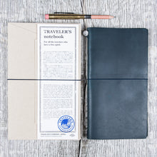 Traveler's Company Notebook Regular Blue