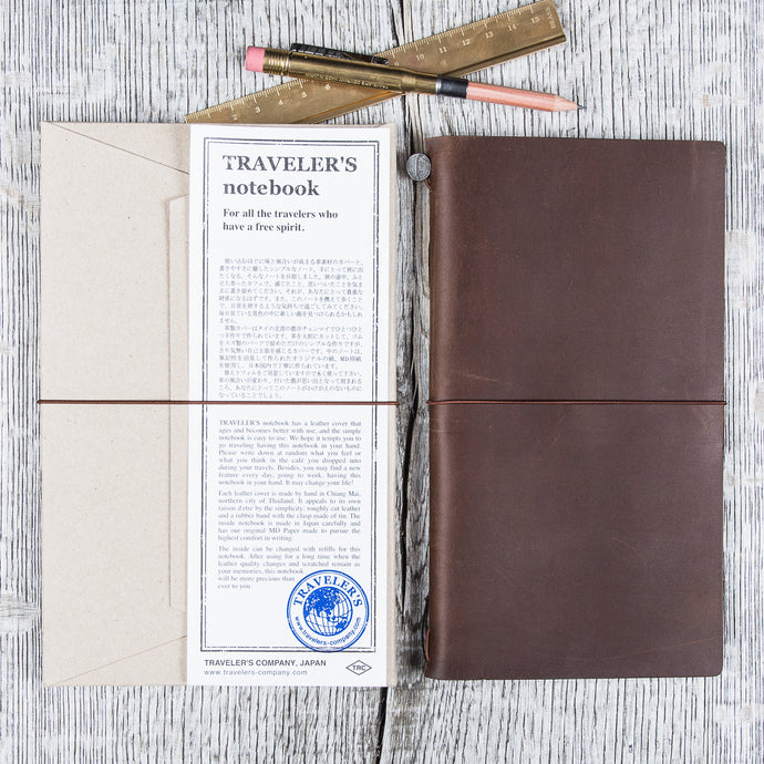 Traveler's Company Notebook Regular Brown