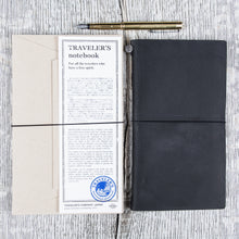 Traveler's Company Notebook Regular Black