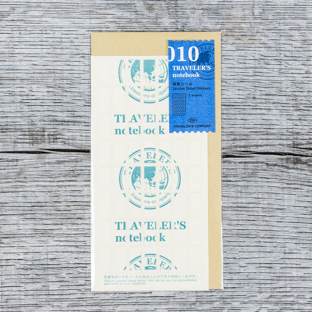 Traveler's Company #010 Double Sided Stickers