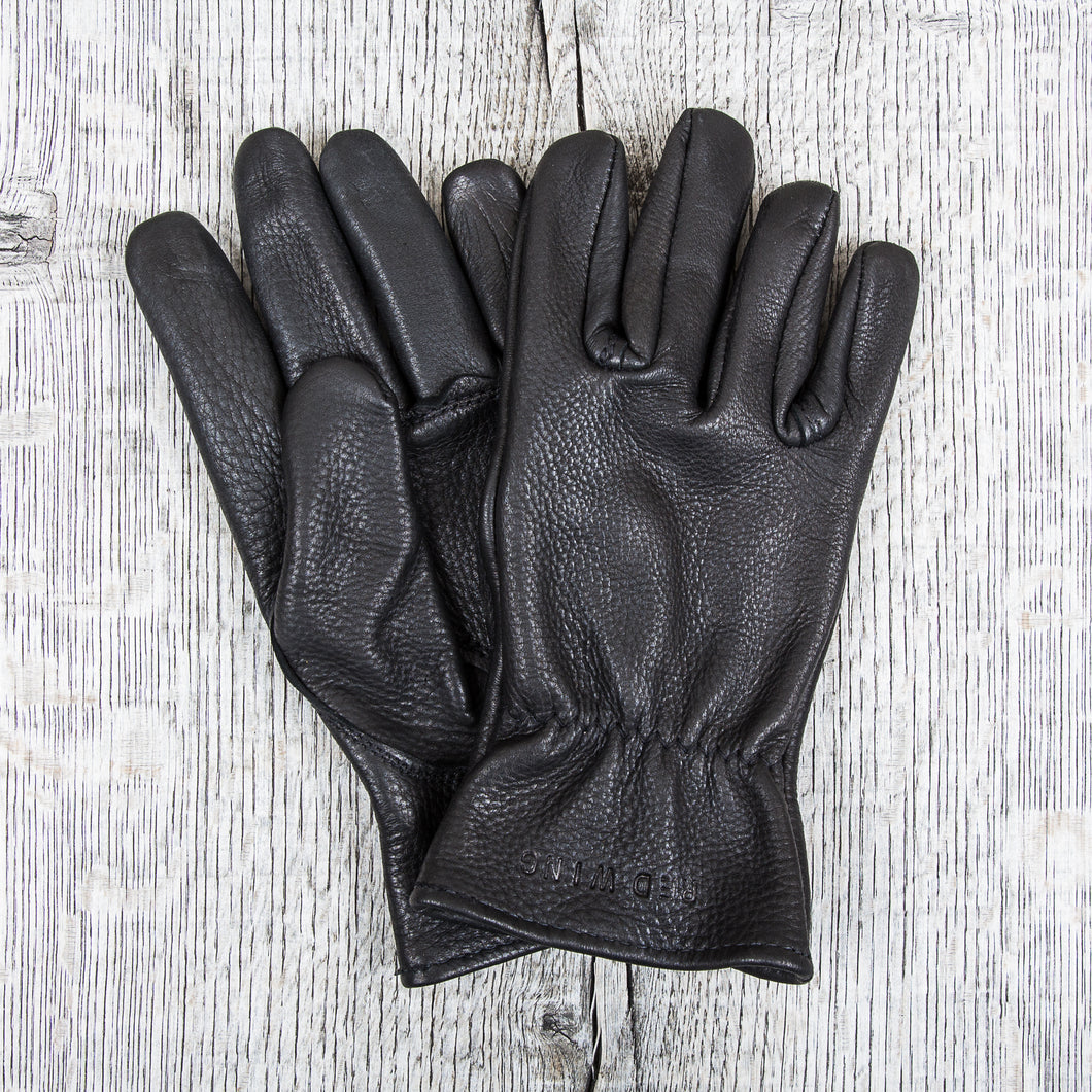 Red Wing Black Deer Skin Gloves