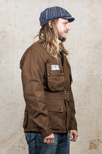 Mister Freedom Mulholland Drizzle King Jacket Brown Duck
