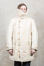"Vintage White Swedish Army Survival Coat ""Livpäls M/1913"""