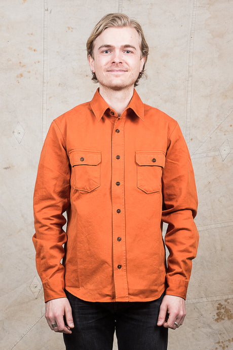 Indigofera Alamo Shirt Brick Red