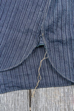 Sugar Cane & Co. Indigo Stripe Coat Shirt