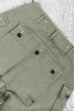 "Buzz Rickson's USMC P-44 HBT Twill ""Monkey"" Pants"