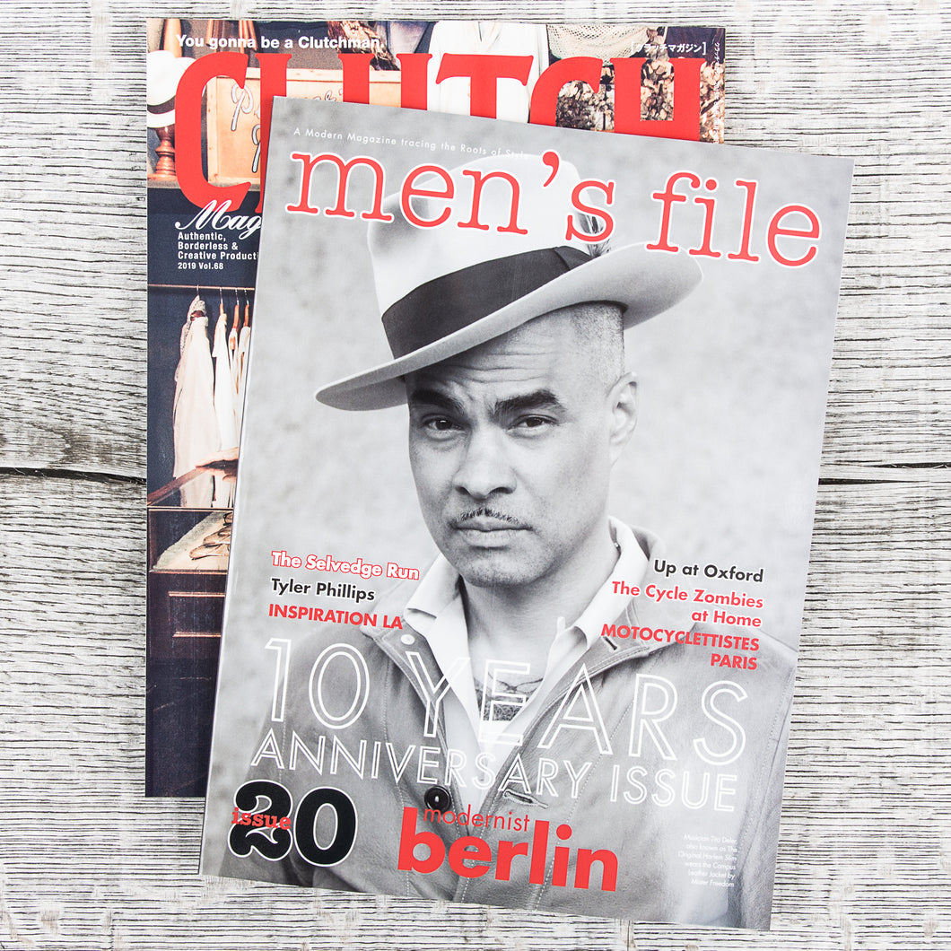 Men's File Issue 20 (+ Clutch Magazine)