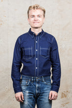 Warehouse & Co Wide Awake Shirt Indigo