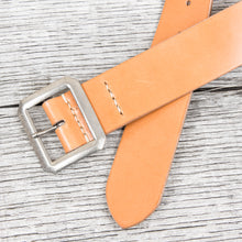 Warehouse & Co Garrison Leather Belt Tan