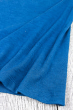 Blue Highway Clothing Indigo Dyed Wool T-Shirt Made in Sweden