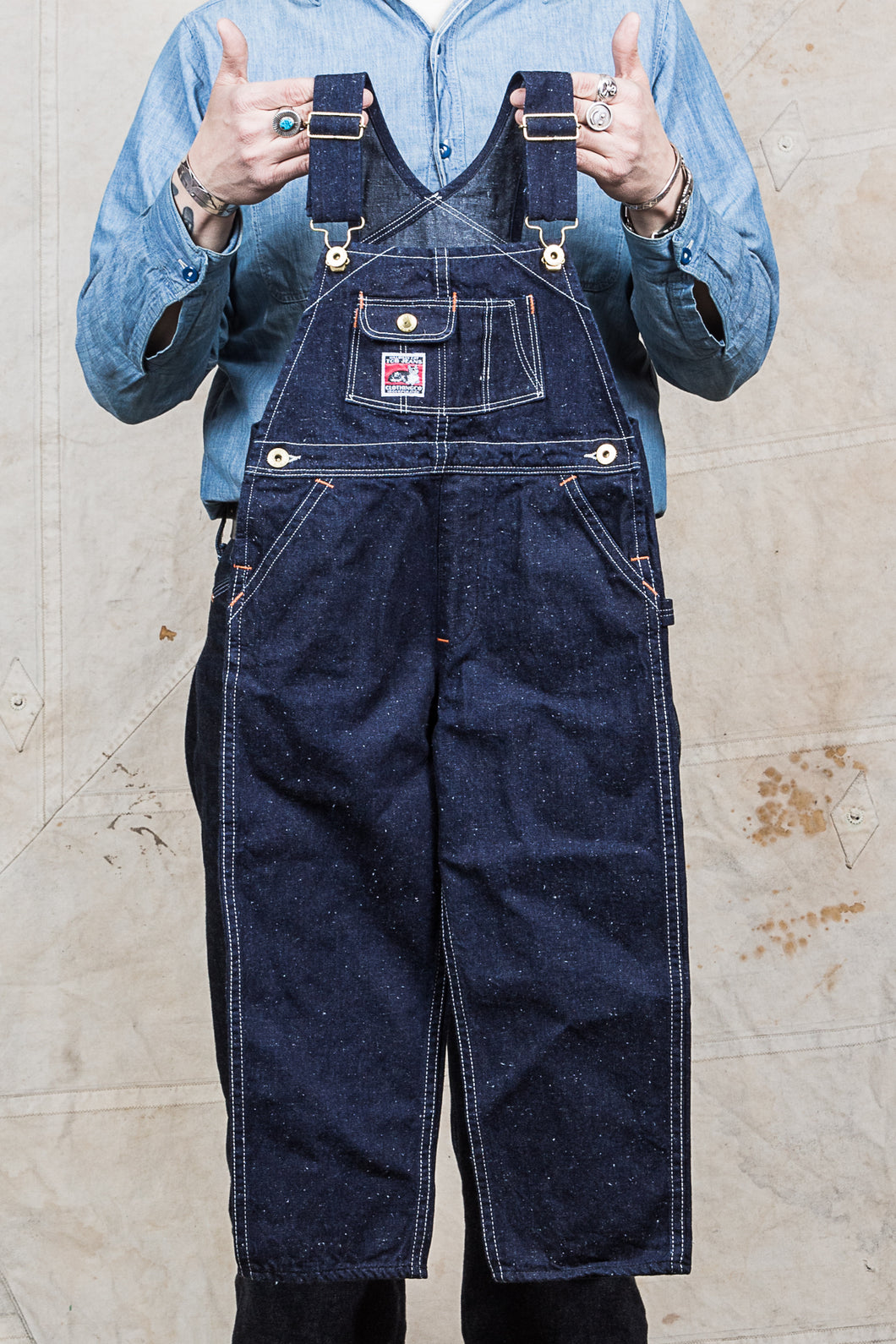 TCB Jeans Kids Wrecking Crew Denim Overall