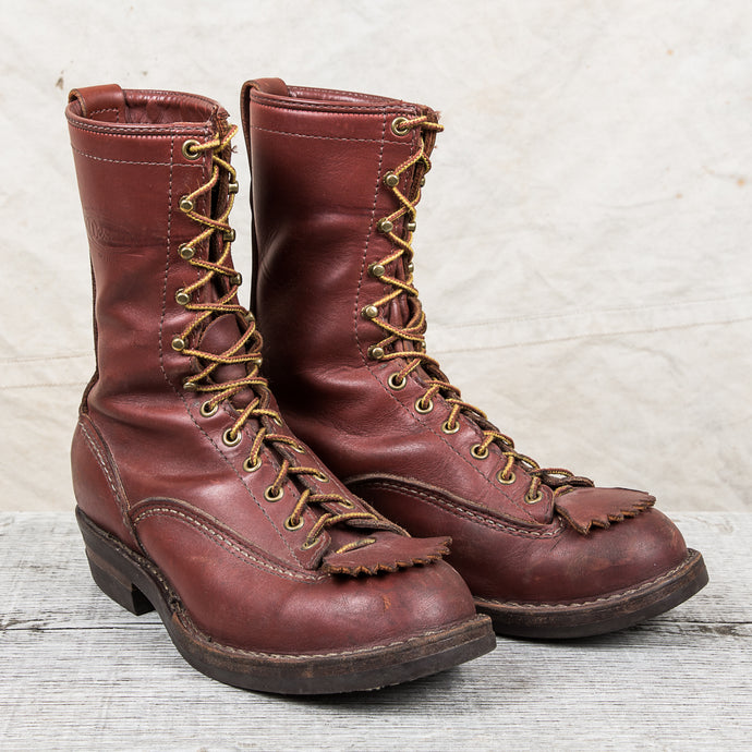 Secondhand Wesco Highliner Boots
