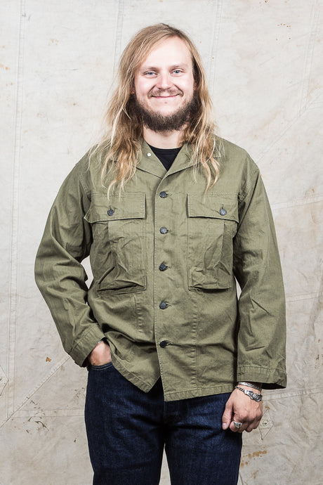 OrSlow M-43 Military HBT Twill Jacket