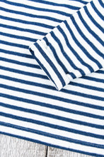 OrSlow Long Sleeve T-Shirt Indigo Stripe