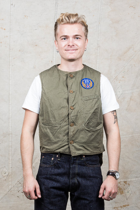 Vintage US Army Korean War Flight Vest