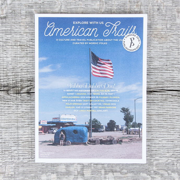 American Trails Magazine #4 Swedish Edition
