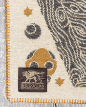 Indigofera Pure Wool Blanket Psyche of Samedi