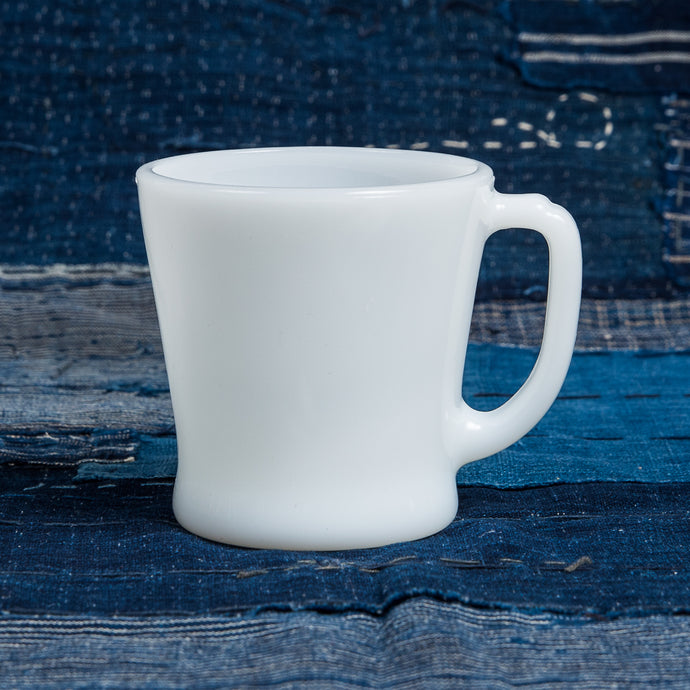 Vintage Fire King White Coffee Cup