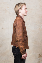 Vintage Original 1940's Swedish Leather Jacket