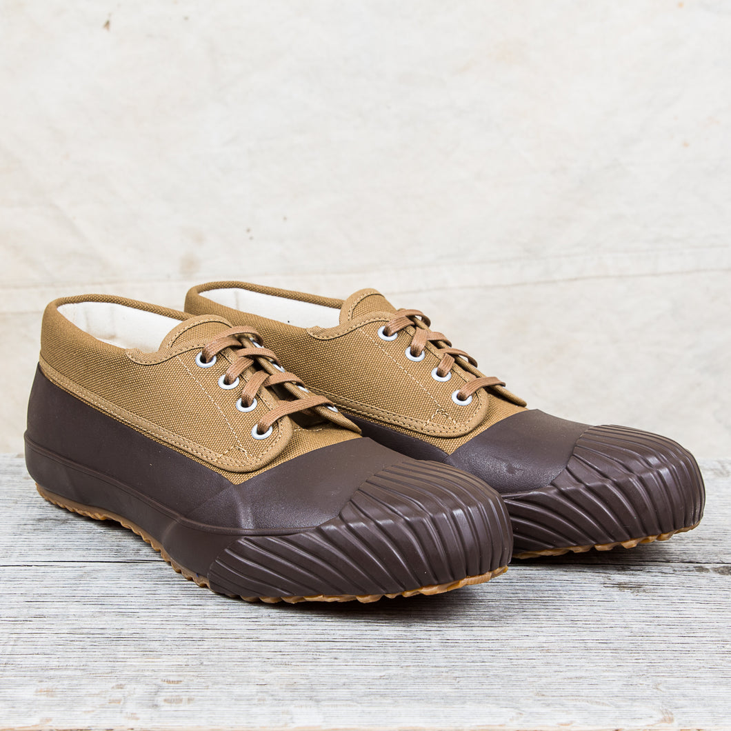 Moonstar Mudguard Vulcanized Rubber Shoes Brown