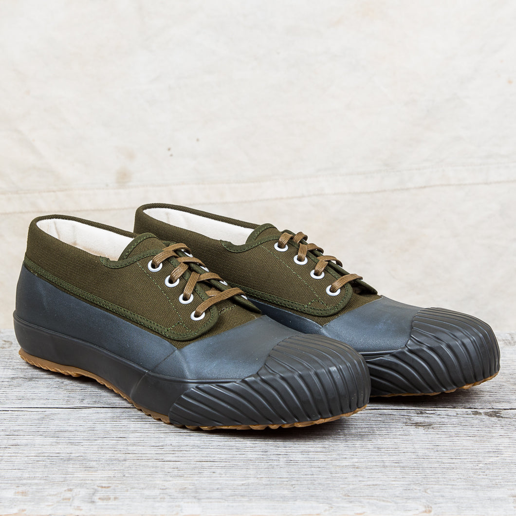 Moonstar Mudguard Vulcanized Rubber Shoes Olive