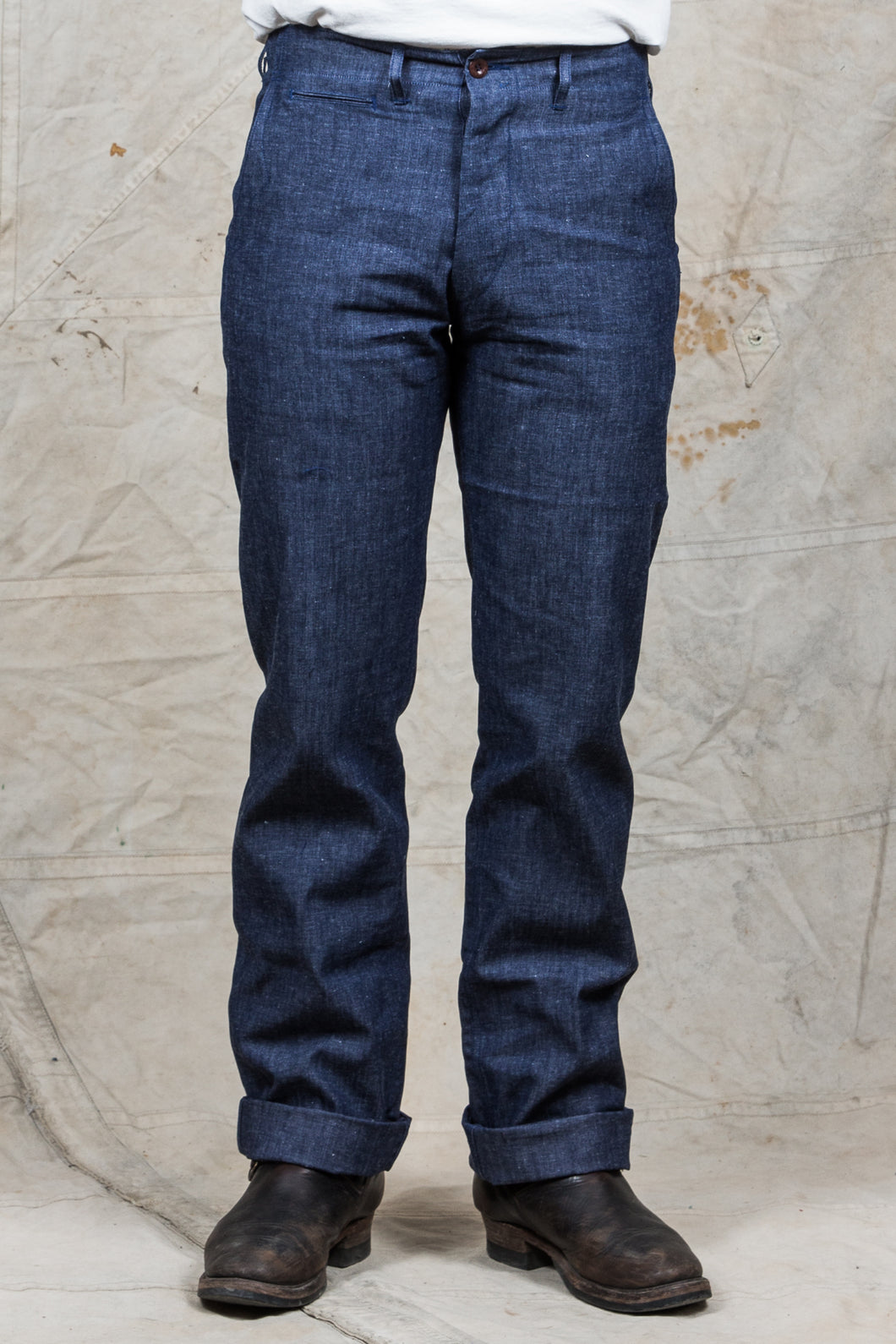 Mister Freedom Naval Chinos Chambray