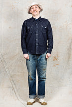 TCB Jeans Ranch Denim Shirt / Sawtooth Western