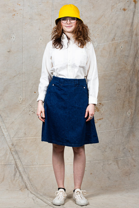 OrSlow Denim Western Skirt