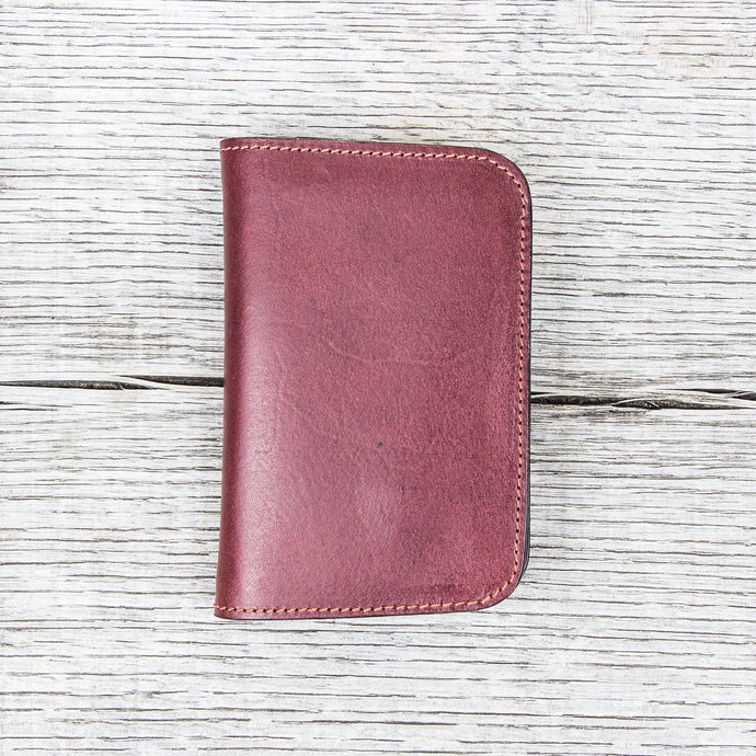 Obbi Good Label Buttero Mid Wallet Wine Red
