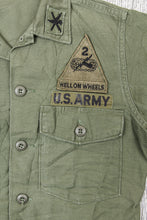 Vintage Original OG-107 Cotton Sateen US Army Shirt
