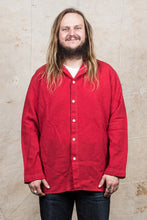 Tender Weaver's Stock Wool Tail Shirt Scarlet