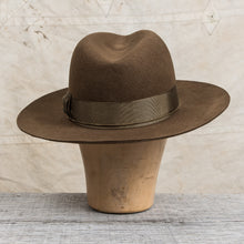 H. W. Dog & Co. Front-H Olive Wool Hat