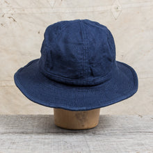 "H. W. Dog & Co. Linen Fatigue Hat ""Daisy Mae"" Navy"