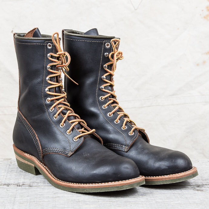 Secondhand Red Wing x Indigofera Jeans The Climber Boot Style No. 4328