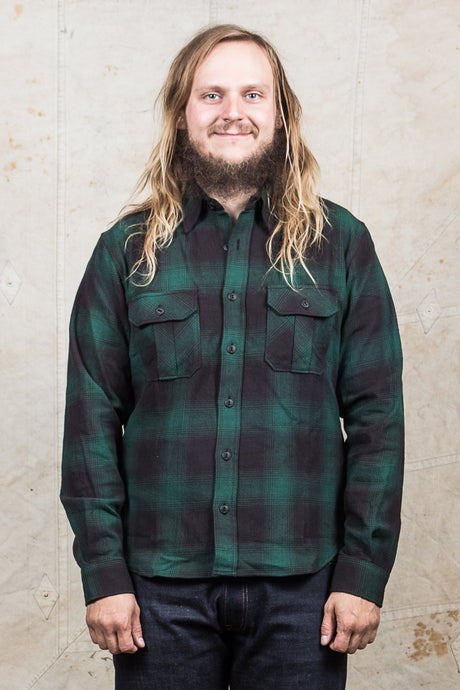 Indigofera Walton Shirt Black/Green